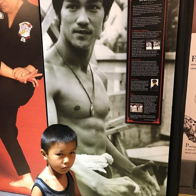 Another person who inspired me brucelee and my little inspirationhellip